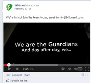 BillGuard Facebook